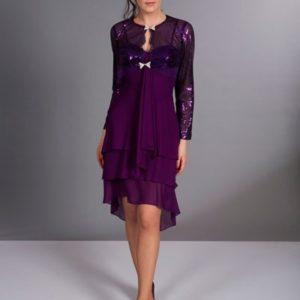 robe de soirée violette za104   42_600x600