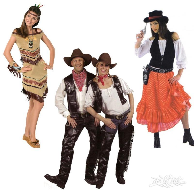 12- cowboy / indien